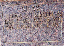 Rossell Ancil Shaw