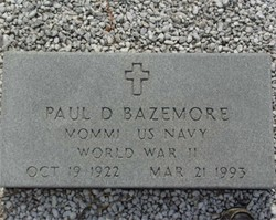 Paul D Bazemore