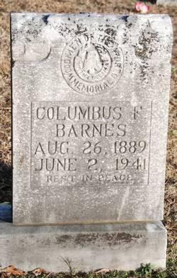 Columbus Franklin Barnes