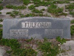 Sallie <i>Adams</i> Fulford