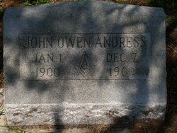 John Owen Andress
