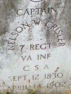 Maj Nelson Weaver Crisler