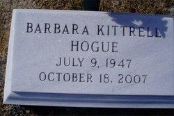 Barbara <i>Kittrell</i> Hogue