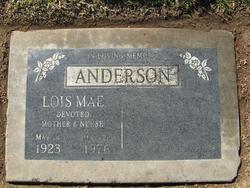 LOIS MAE <i>HUNTINGTON</i> ANDERSON
