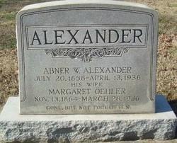 Abner Wilson Alexander