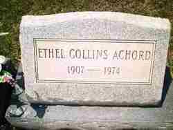 Elma Ethel <i>Collins</i> Achord