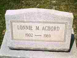 Lonnie M Achord