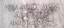 Vera <i>Brett</i> Allen