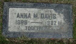 Anna Minnie <i>Rathke</i> Davis