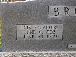 Lois Pamelia <i>Jacobs</i> Brock