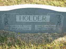 Rebbecca F. <i>Peyton</i> Holder