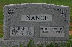 Sarah Elizabeth <i>Sowers</i> Nance