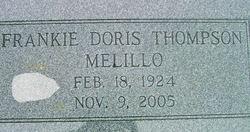 Frankie Doris <i>Thompson</i> Melillo