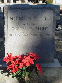 Nannie R. <i>Tucker</i> Blunt
