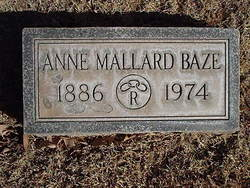 Anne <i>Mallard</i> Baze