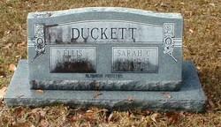 Sarah L. <i>Caudell</i> Duckett