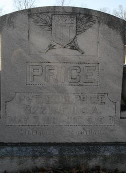 Pvt Ed R Price