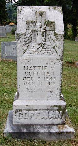 Mattie Martha <i>Carter</i> Coffman