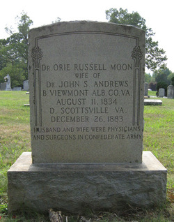 Dr Oriana Russell Orie <i>Moon</i> Andrews