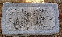 Martha Adelia <i>Gambrell</i> Darter