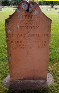 Octavia Ann <i>Lane</i> Austin