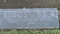 Oscar Wilds O.W. Biggs