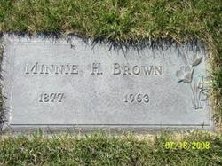 Minnie H <i>Havens</i> Brown