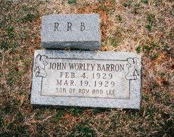 John Worley Barron