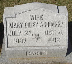 Mary <i>Coley</i> Ashberry