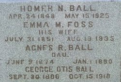 Emma M. <i>Foss</i> Ball