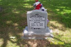 PFC W. S. Buck Cleveland