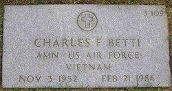 Charles F Betti