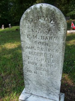 Mary C <i>Bridges</i> Babb