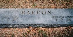 William David Bill Barron