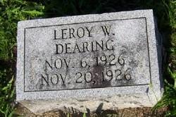 Leroy Walter Dearing