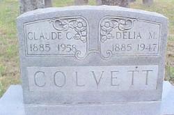 Delia M. <i>Dugger</i> Colvett