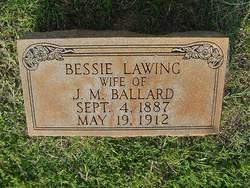 Bessie <i>Lawing</i> Ballard