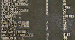 Pvt James H. M. Hatton