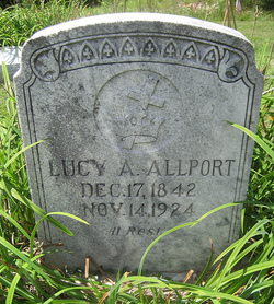 Lucy A Allport