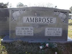Elsberry Ambrose, Sr