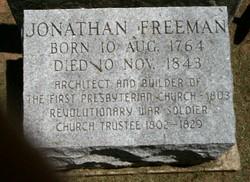 Pvt Jonathan Freeman