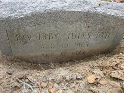 Rev Irby Jules