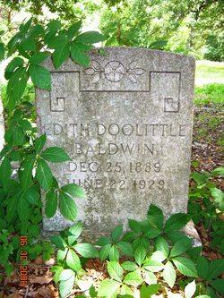Edith <i>Doolittle</i> Baldwin