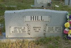 Ollie Mae <i>Davis</i> Hill