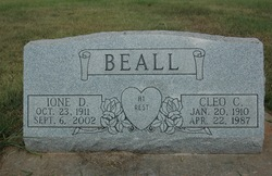 Iona D. <i>Stephens</i> Beall