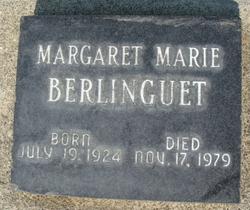 Margaret Marie <i>Marquardt</i> Berlinguet