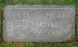 Ellis Thomas Means