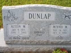 Minnie M. <i>Goss</i> Dunlap