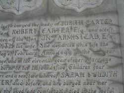 Judith <i>Armistead</i> Carter