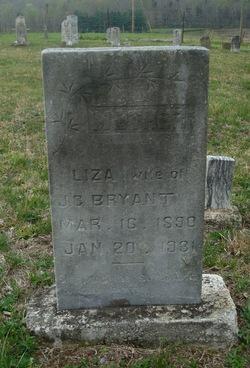 Eliza Ellen Liza <i>Conover</i> Bryant